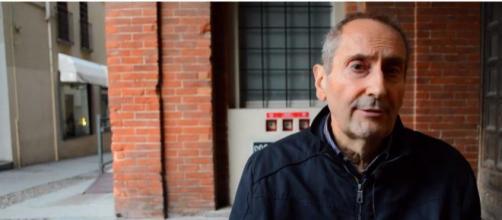 Franco Grillini malato di cancro (Ph. Youtube)