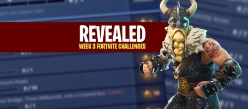 Season 5, Week 3 'Fortnite Battle Royale' challenges have been revealed. [Image Credit: Asmir Pekmic]