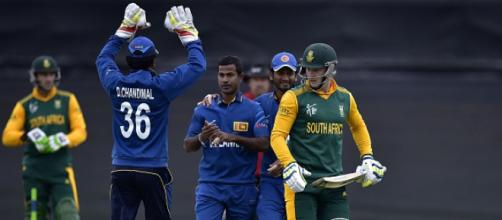 Sri Lanka vs South Africa (Image via SLC/Twitter)