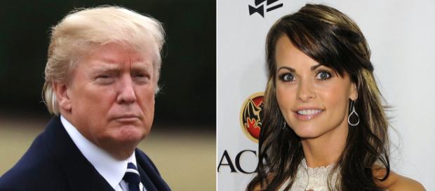 Donald Trump wird mit Tonband-Aufnahmen konfrontiert. Es geht um Ex-Playboy Playmate Karen McDougal