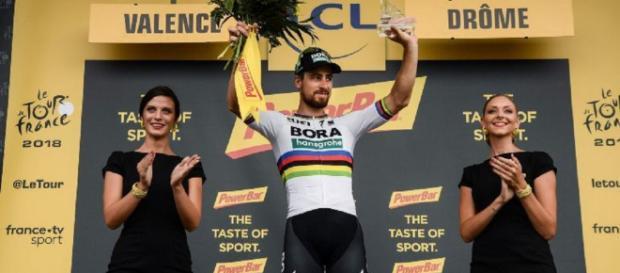 Clasificación general del Tour de Francia tras la victoria de Sagan en la etapa 13