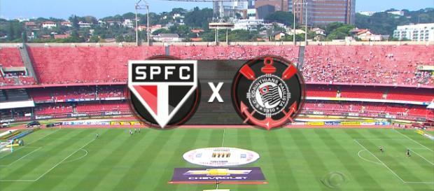 São Paulo e Corinthians, no Morumbi, ao vivo