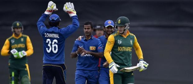 Sri Lanka vs South Africa (Image via SLC/Twitter)