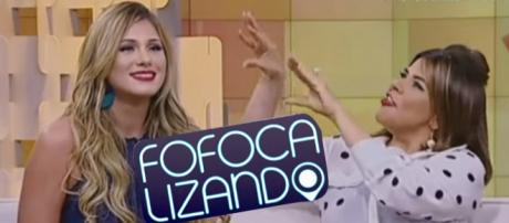 Mara Maravilha se revolta com Lívia Andrade, ao vivo