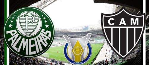 Jogo Palmeiras e Atlético MG ao vivo neste domingo