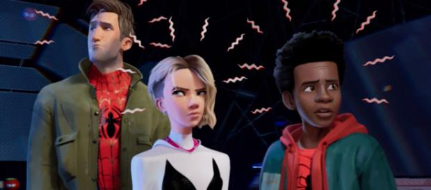 New details for 'Spider-Man: Into the Spider-Verse' were revealed at San Diego Comic-Con. - [Emergency Awesome / YouTube screencap]