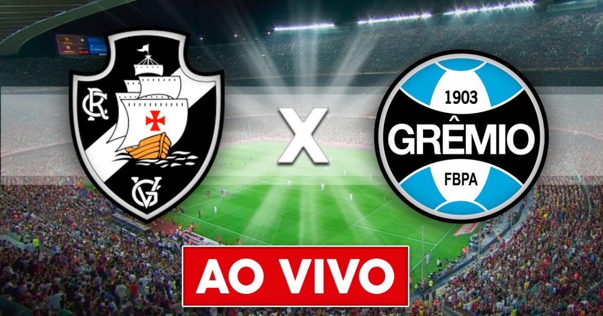 Grêmio x Vasco ao vivo - Exibição hoje, a partir das 16h