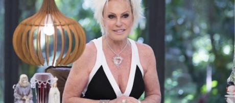 Apresentadora da Globo, Ana Maria Braga