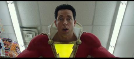 Billy Batson learns to master his powers in the 'Shazam' movie trailer [Image Credit: DC Entertainment/YouTube screencap]