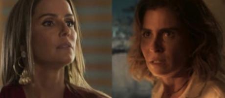 Karola e Luzia, personagens de 'Segundo Sol'
