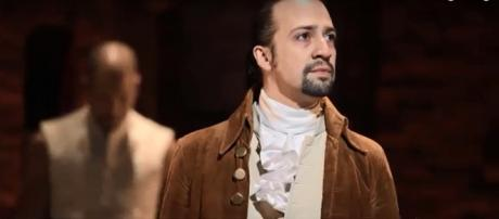Lin-Manuel Miranda is equally excited and terrified about bringing 'Hamilton' to Puerto Rico. [Image source: The Hollywood Reporter-YouTube]: