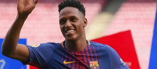 El Barcelona tasa a Yerry Mina en 40 millones de euros (Rumores)