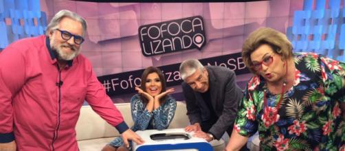 Fofocalizando: Clima hostil entre apresentadores resulta na retirada de Mara Maravilha