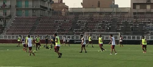 Il Trapani prosegue la preparazione: squadra ancora senza allenatore
