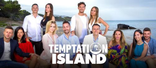 In foto i concorrenti di Temptation Island 2018