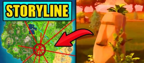 Salty Springs to be destroyed soon. [Image Source: BULL - Fortnite YouTube]