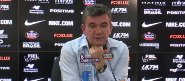 Andrés Sanchez, atual presidente do Corinthians