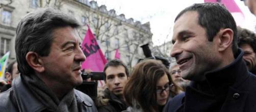 Benoît Hamon et Jean-Luc Mélenchon demande la convocation d'Emmanuel Marcon concernant Benalla.