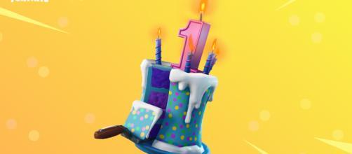 """""""Fortnite"""" llegó a su primer Cumpleaños y lo festeja con sus fans."""