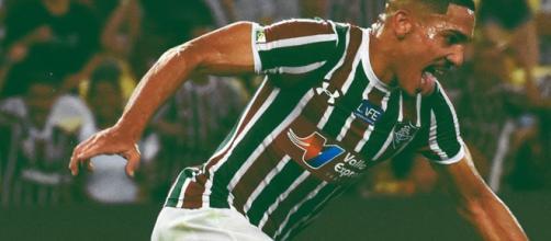 Gilberto marcou o gol do Fluminense