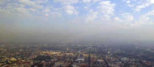 """México sufre los efectos nocivos del """"smog""""."""