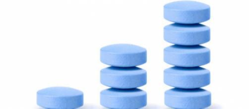 Nella foto pasticche di Viagra - fonte della foto: gds.it