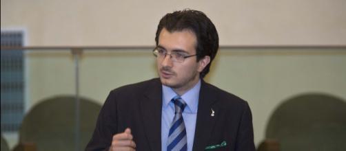 Nella foto Riccardo Molinari, capogruppo della Lega alla camera - fonte della foto: ancitel.it