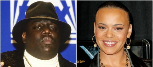 Notorious B.I.G. e Faith Evans, sposati tra il 1994 e il 1997.