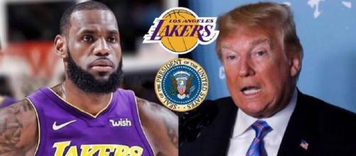 Donald Trump insults LeBron James saying 'Don Lemon...made Lebron look smart' Photo credit - Lakerskingdom16 | Instagram