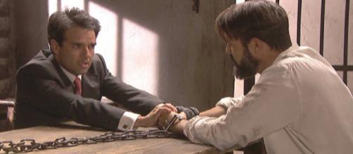 Anticipazioni Il Segreto: Carmelo dice una bugia a Severo per non farlo soffrire