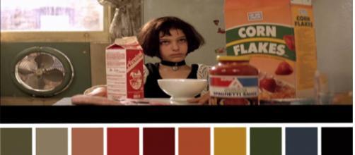 Cena de Matilda no filme O Profissional.