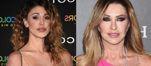 Gossip: Belen Rodriguez contro la Ferrari e la Perego con un 'like' su Instagram.