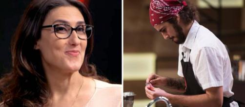 Internautas insinuaram que Paola gostaria de ter relações íntimas com Hugo. Fotos: Reprodução/Band.