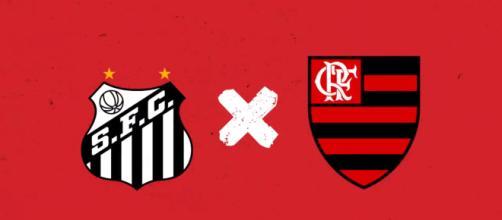 Santos e Flamengo ao vivo, pelo brasileirão 2018.