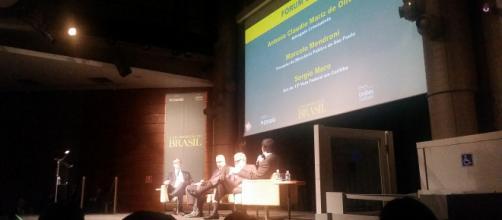 Sérgio Moro, Marcelo Mendroni e Antonio Claudio Mariz de Oliveira discutem reconstrução do país em evento do Estadão