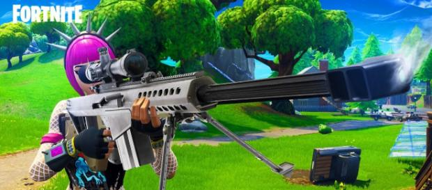 Heavy Sniper Rifle is coming to 'Fortnite Battle Royale.' [Image Credit: TmarTn2 - YouTube]