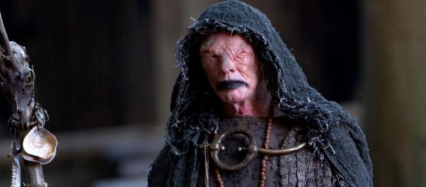 O vidente, personagem de Vikings