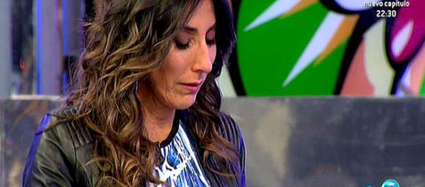 Paz Padilla emocionada por el duro relato de su madre hablando de la Guerra Civil