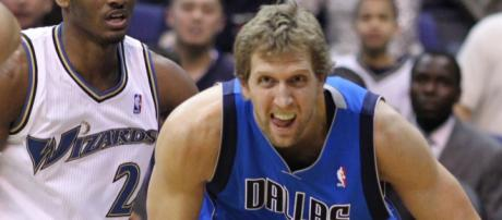 Dirk Nowitzki is getting ready for his 21st season with the Dallas Mavericks. [Image Source: Keith Allison - Flickr]
