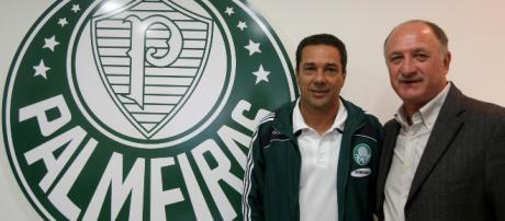 Felipão e Luxemburgo são cogitados para assumir o comando do Palmeiras