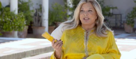 Olivia Valère muestra su mansión y lujosa vajilla en 'Ven a cenar conmigo: Summer edition'