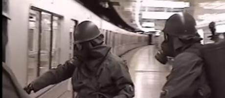 Sarin attack Yokyo Japan - Image credit GSDF Video via NHK WORLD-JAPAN | YouTube