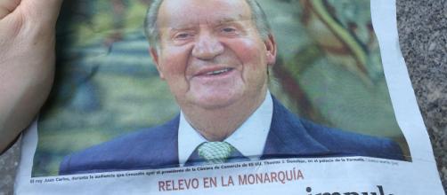 El diario El País considera al rey Juan Carlos I como un activo tóxico en España