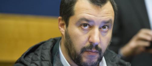 Il ministro degli Interni, Matteo Salvini (Gds)