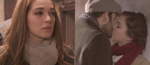 Il Segreto: il bacio tra Laura e Julieta