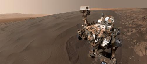 Orbitador espacial Mars Express halla un lago de agua bajo el hielo en Marte