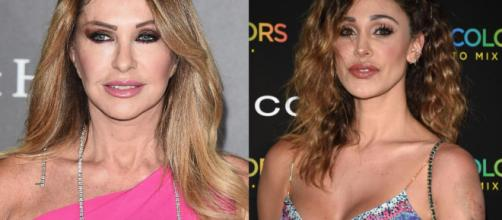Paola Ferrari contro Belen Rodriguez: 'E' bella e ricca, ma anche furba e senza talento'