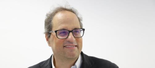 """Torra explica a los cónsules que Cataluña """"nunca"""" renunciará a la autodeterminación"""