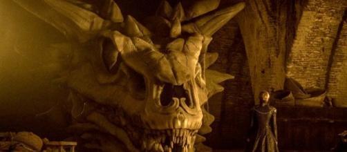 Uma representação da série derivada de Game of Thrones.