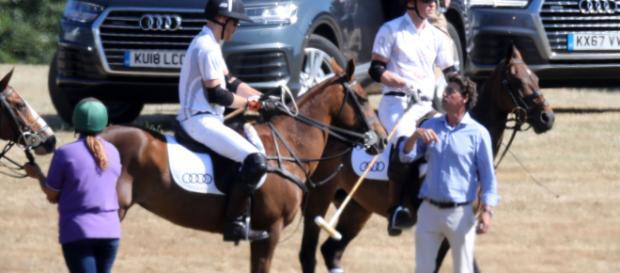 Harry acude junto a Meghan a un partid benéfico en pro de los niños con SIDA